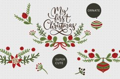 Christmas lettering & Christmas SVG set. Product Image 5