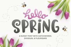 Hello Spring Font Product Image 1