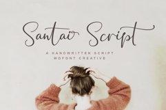 Santai Script | A Hanwritten Product Image 1