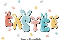 Easter Day clipart , png file, Easter day png, sticker Product Image 2