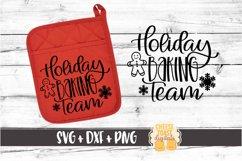Christmas Pot Holder Bundle Vol 1 - Oven Mitt SVG PNG DXF Product Image 4