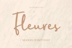 Web Font Fleures Font Product Image 1