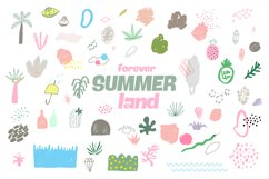 Forever Summer Land Abstract Design Product Image 1