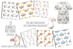 Cute forest Animals. Patterns + Wreaths Product Image 3