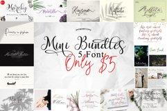 Mini Bundles 5 font Only $5 Product Image 1