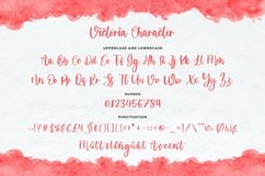 Victoria Script Font Product Image 5