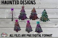 Cheetah Christmas Tree Clip Art Sublimation Bundle Product Image 1