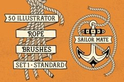 Sailor Mate's Rope Brush Collection Product Image 2