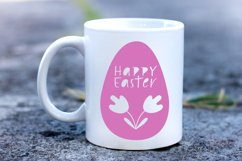 Happy Easter SVG. Egg Paper Cut SVG.Papercut Easter.Easy SVG Product Image 2
