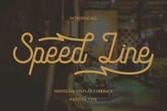 Speed Line Product Image 1