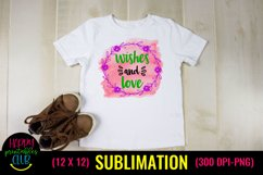 Wishes and Love- Christmas Sublimation Design Ideas Product Image 2