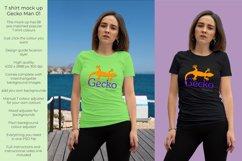 Gecko Girl 1T shirt mock up Product Image 1