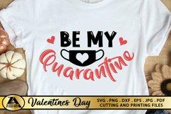 Valentines SVG Covid 2020 SVG Quarantine Valentine's Day SVG Product Image 3