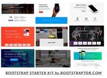 EVO BLOCKS Bootstrap 3 framework Product Image 4