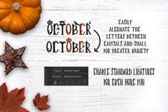 Creepy Halloween Font Product Image 5