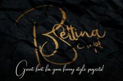 Bettina Script Font Product Image 3