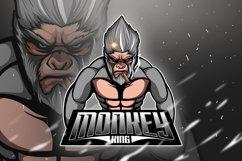 Monkey King 4 - Mascot & Esport Logo Product Image 1