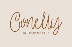 Conelly - Handwritten Font Product Image 1