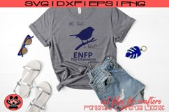 Oh Look A Bird - Myers Briggs - ENFP Champion - SVG Cut File Product Image 1