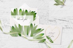 Watercolor Greenery Clipart Wreath Branches For wedding Product Image 6