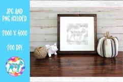 Framed Wood Sign Mockup Product Image 1