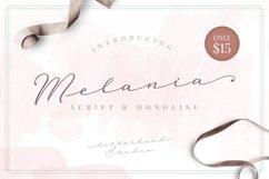 Melania Script Product Image 1