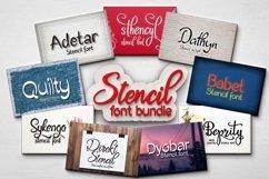 Stencil font bundle Product Image 1