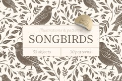 Songbirds graphic collection Product Image 1