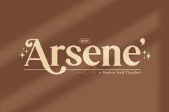 Arsene Modern Serif Typeface Product Image 1