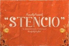 Web Font Stencio Product Image 1