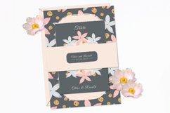 Modern Floral Wedding Invitation Set Product Image 5