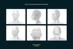 Face Mask Mockup Product Image 2