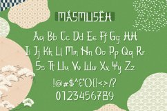 Web Font - Masmuseh Product Image 2