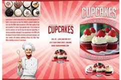 Cupcakes Trifold Brochure Template Product Image 3