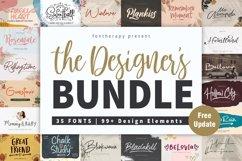 The Designer's Font Bundle Product Image 1