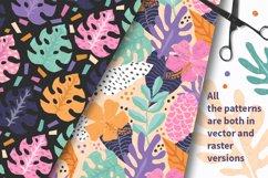 Tropical Cutouts Patterns Set Product Image 2