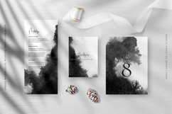 Ombre Watercolor Wedding Invitation Suite Product Image 4