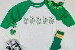 Web Font Lucky Gnomie - A St. Patrick's Day Monogram Font Product Image 4