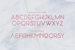 Quartz - Deco Font Product Image 2