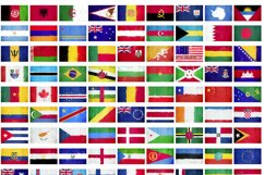 236 Grunge Flags Product Image 4