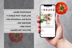 Social media Instagram posts bundle Product Image 2
