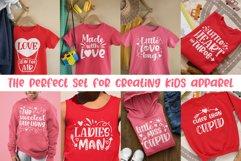 Little Love kids Valentine's Day SVG design Bundle Product Image 2