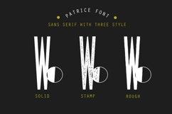 Patrice - Sans Serif Font Product Image 4