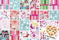 Valentine illustrations bundle - Baby Sublimation designs Product Image 2