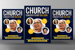 Conference Church Flyer Templates Product Image 1