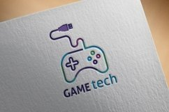 Game Tech Logo Product Image 3