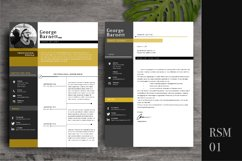 Resume Template 2 Page   CV Template Product Image 2