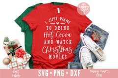 Hot Cocoa And Christmas Movies SVG Product Image 3