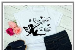 Once Upon A Time Fairy SVG Product Image 2