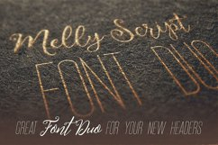 Melly Script Font Duo Product Image 5
